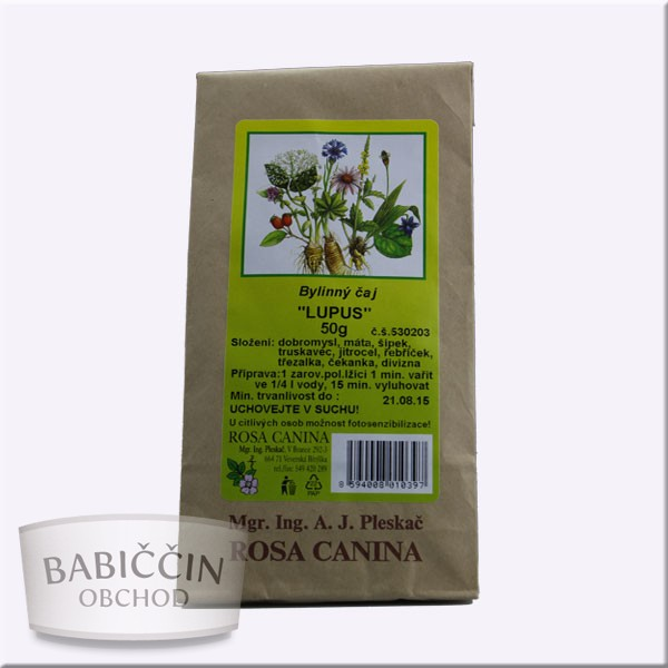 Byliny - otec Pleskač - Bylinný čaj Lupus 50 g