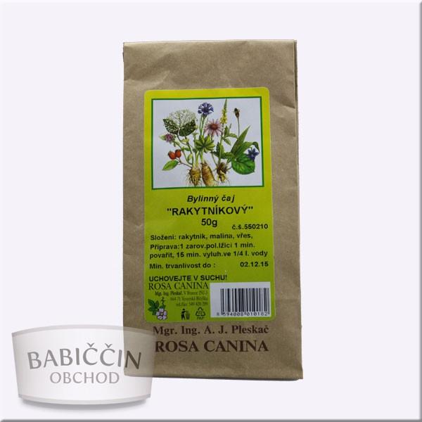 Byliny - otec Pleskač - Bylinný čaj - Rakytníkový 50 g
