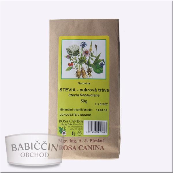 Byliny - otec Pleskač - Stevia rebaudiana - cukrová tráva 50 g