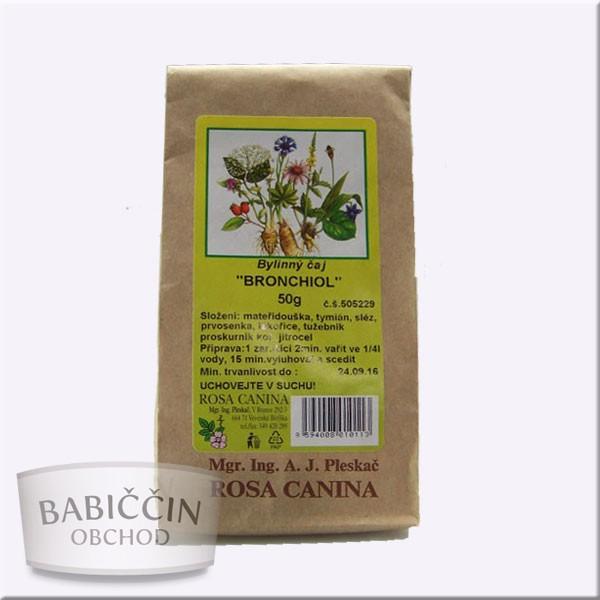 Byliny - otec Pleskač - Bylinný čaj BRONCHIOL 50 g