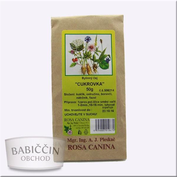Byliny - otec Pleskač - Bylinný čaj Cukrofit 50 g