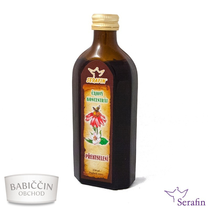 Bylinné tinktury Serafin - Překyselení 250 ml