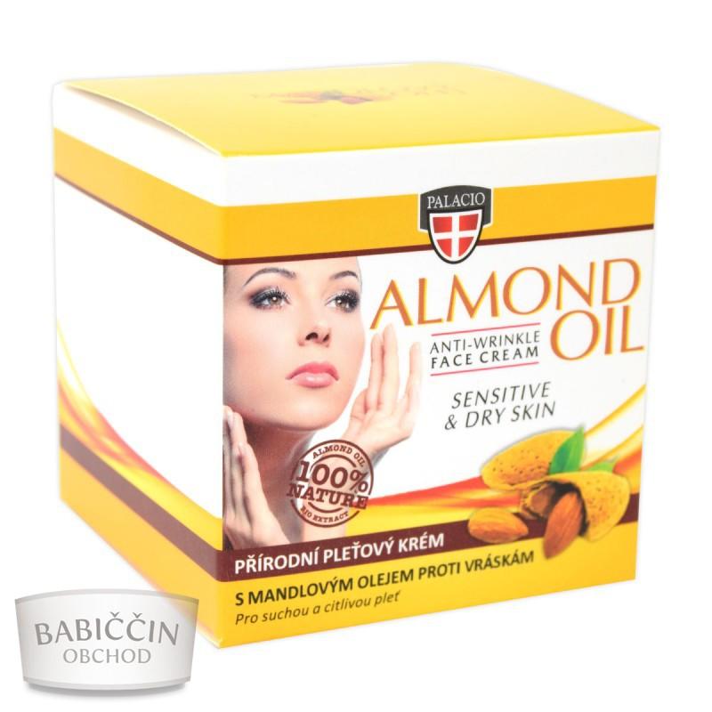 RYCHLÁ VOLBA - Péče o tělo a vlasy - Mandlový krém na vrásky 50 ml