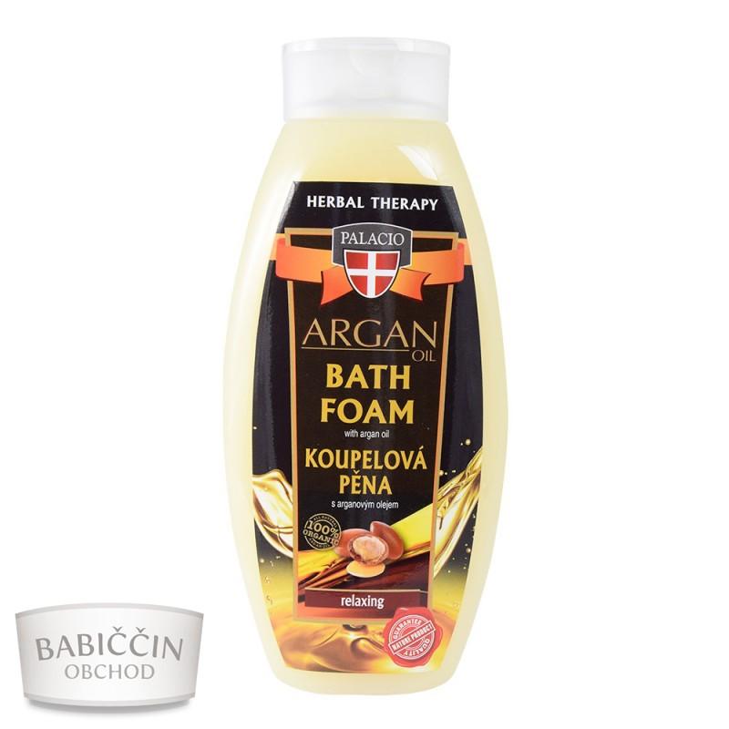 Přírodní kosmetika - Arganová pěna do koupele 500ml