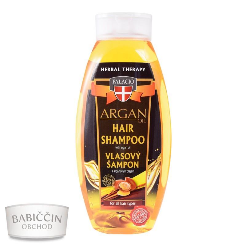 Přírodní kosmetika - Arganový šampon 500ml