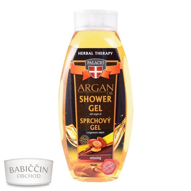 Přírodní kosmetika - Arganový sprchový gel 500ml