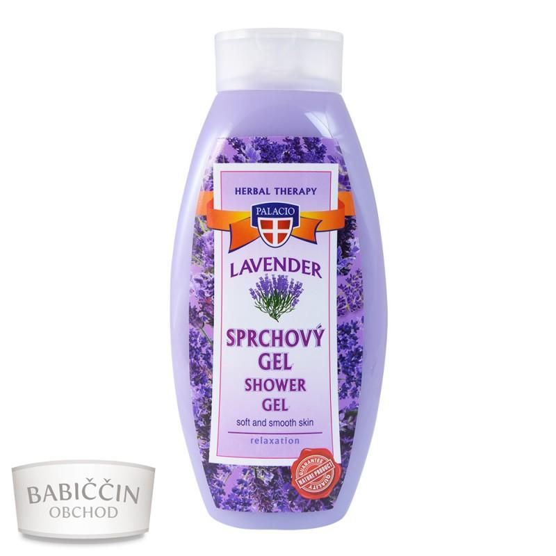 Přírodní kosmetika - Levandulový sprchový gel 500ml