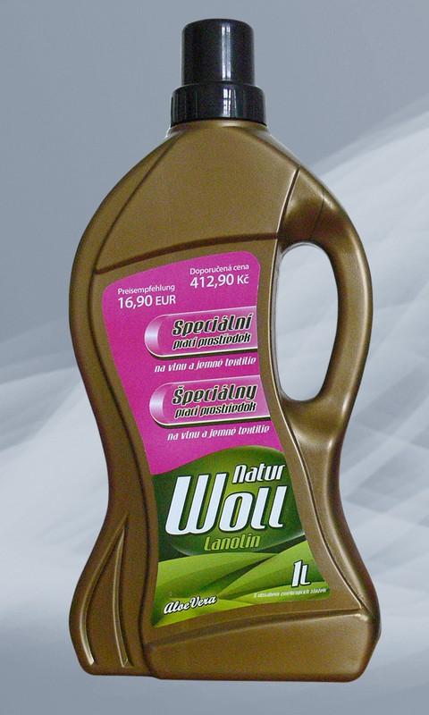 Babiččiny bylinky® - Lanolin s aloe vera 1 l