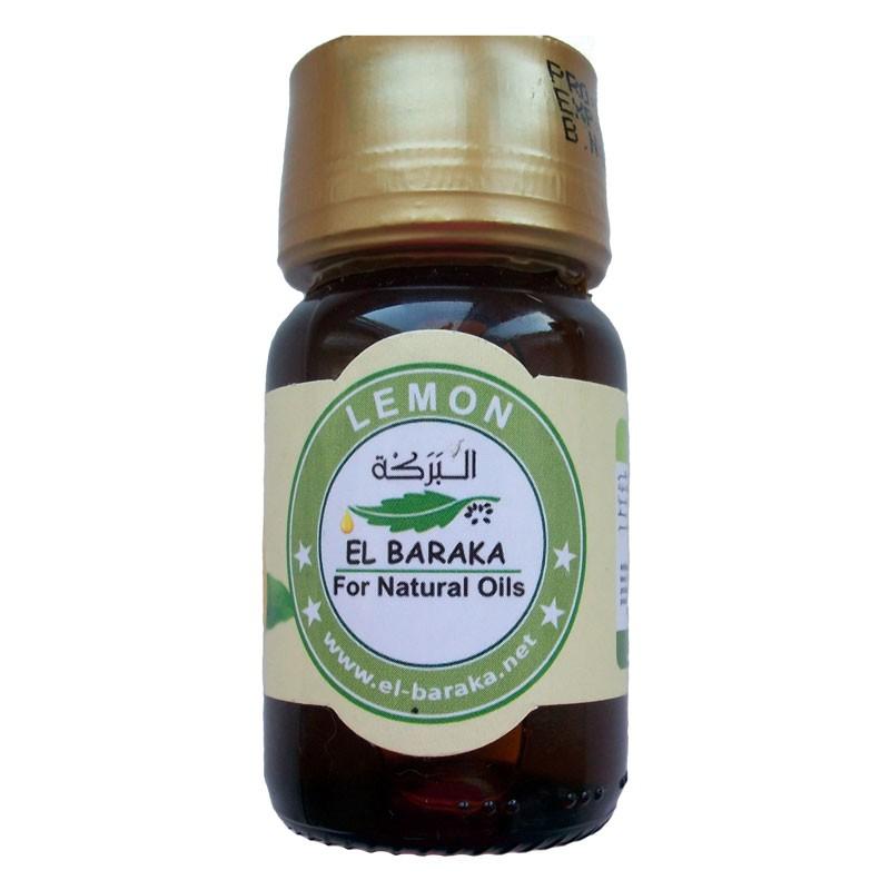 Přírodní neředěné oleje - Citrónový olej 100% 30 ml