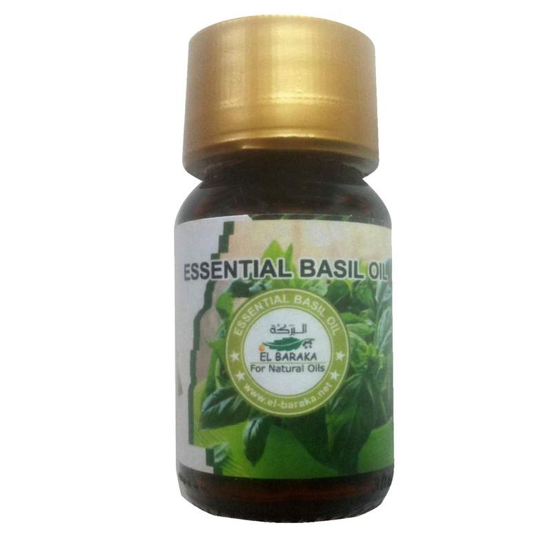 Přírodní neředěné oleje - Bazalkový olej esenciální 30 ml