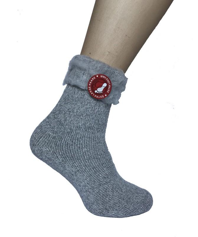 e384ef13082 Mega termo ponožky šedé