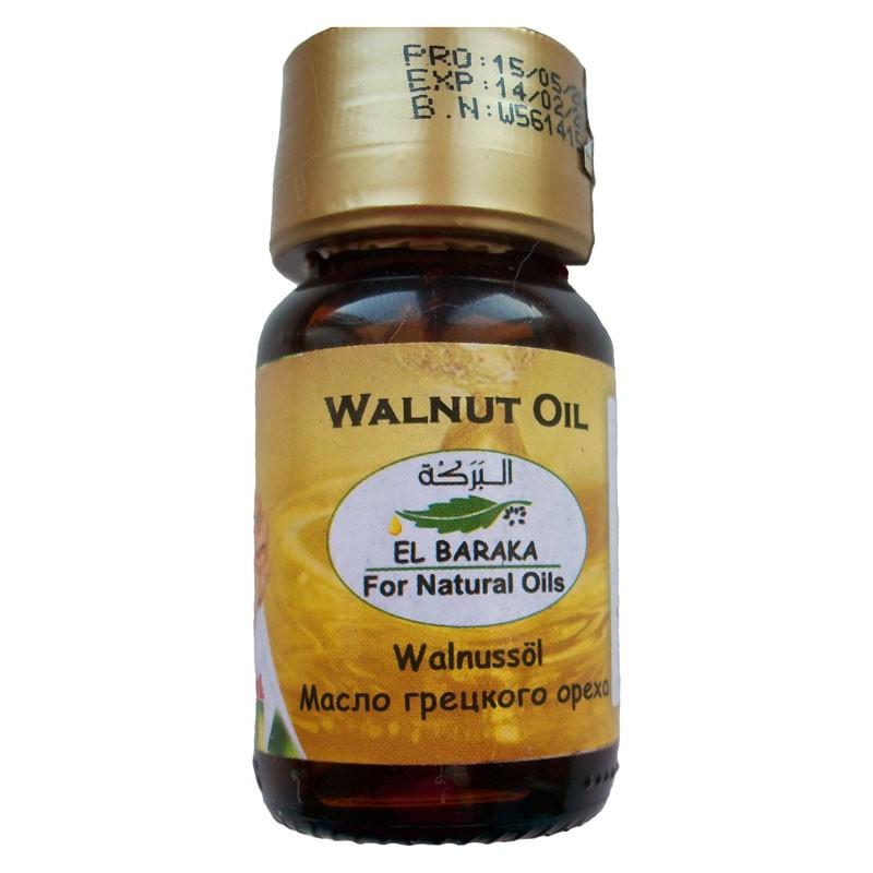 Přírodní neředěné oleje - Olej z vlašských ořechů 100% 30 ml