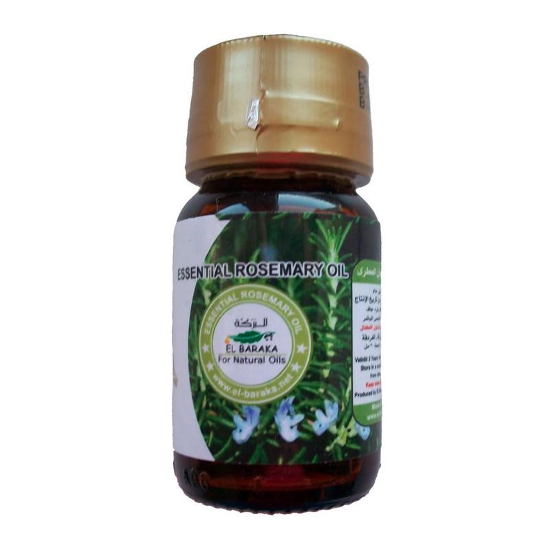 Přírodní neředěné oleje - Rozmarýnový olej 30 ml