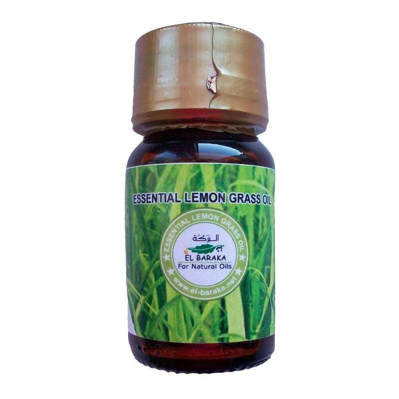 Přírodní neředěné oleje - Olej z citronové trávy extrakt 30 ml