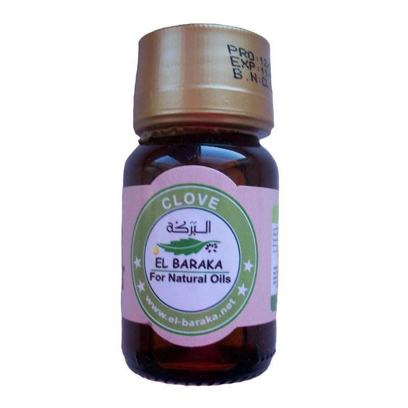Přírodní neředěné oleje - Hřebíčkový olej 30 ml
