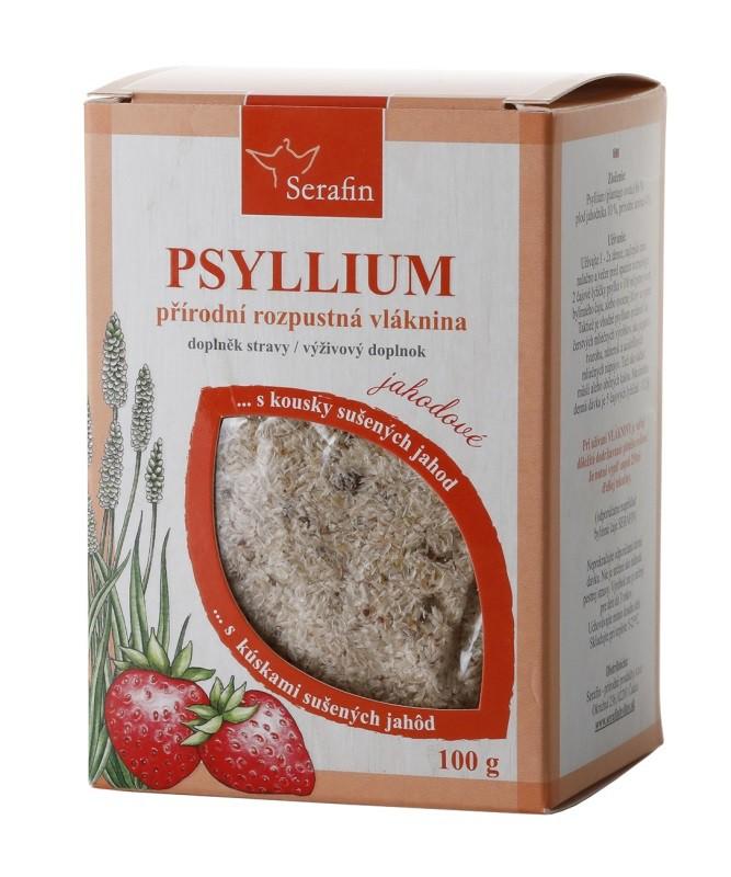 Byliny - Serafin - Psyllium s kousky ovoce - jahoda 100 g