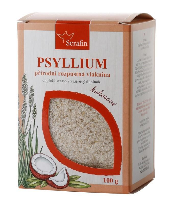 Byliny - Serafin - Psyllium s přírodním aromatem - kokos 100 g