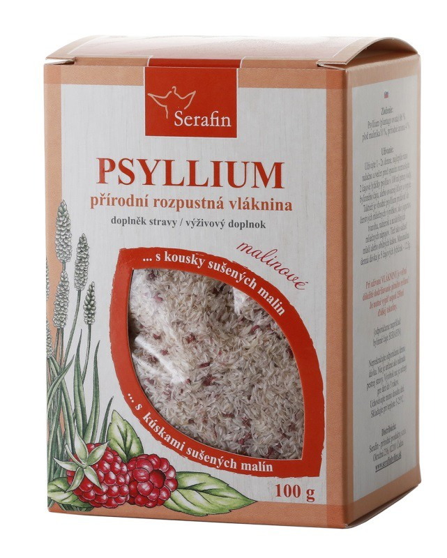 Byliny - Serafin - Psyllium s kousky ovoce - malina 100 g