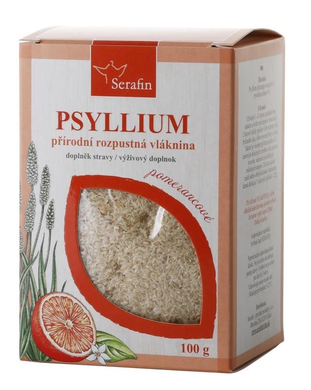 Byliny - Serafin - Psyllium s přírodním aromatem - pomeranč 100 g