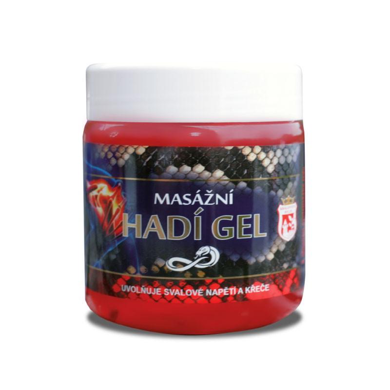 Přírodní kosmetika - Hadí gel masážní 500 ml