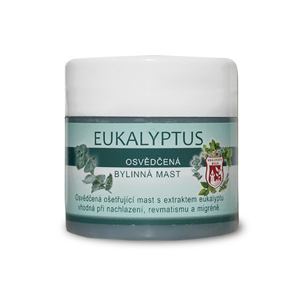 Bylinné krémy, soli a masti - Eukalyptus 150 ml