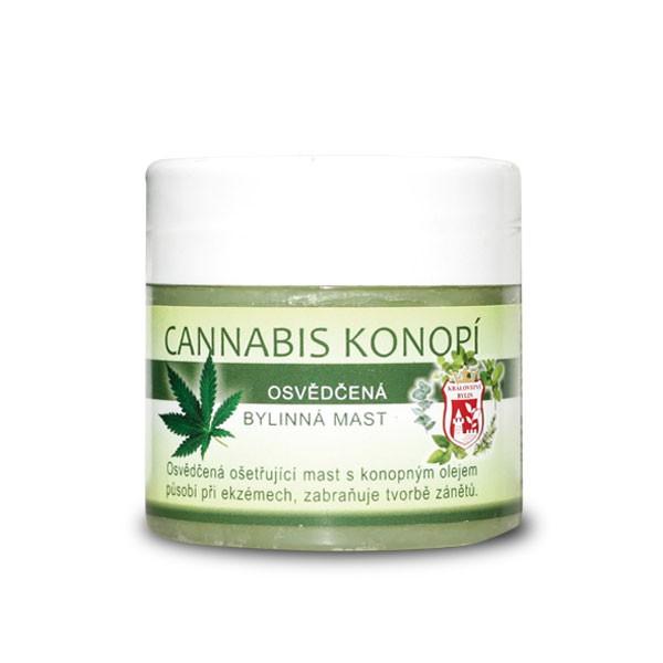 Přírodní kosmetika - Cannabis konopí 150 ml