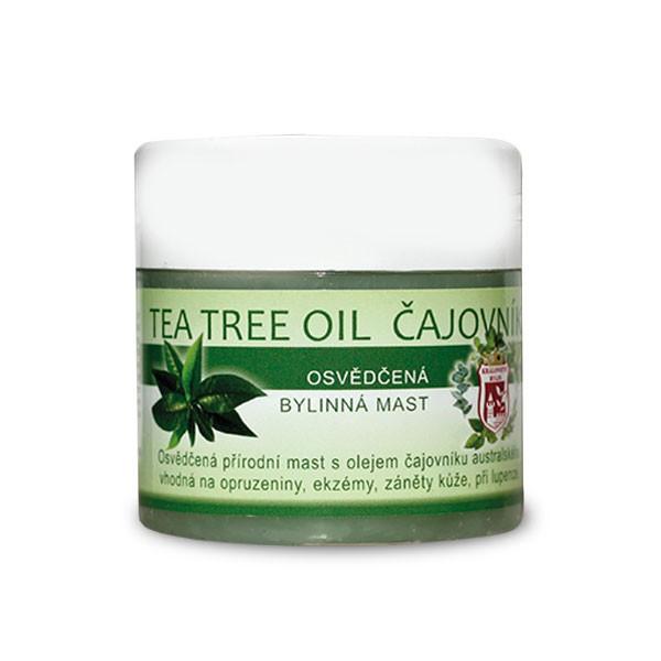 Bylinné krémy, soli a masti - Tea tree oil čajovník 150 ml