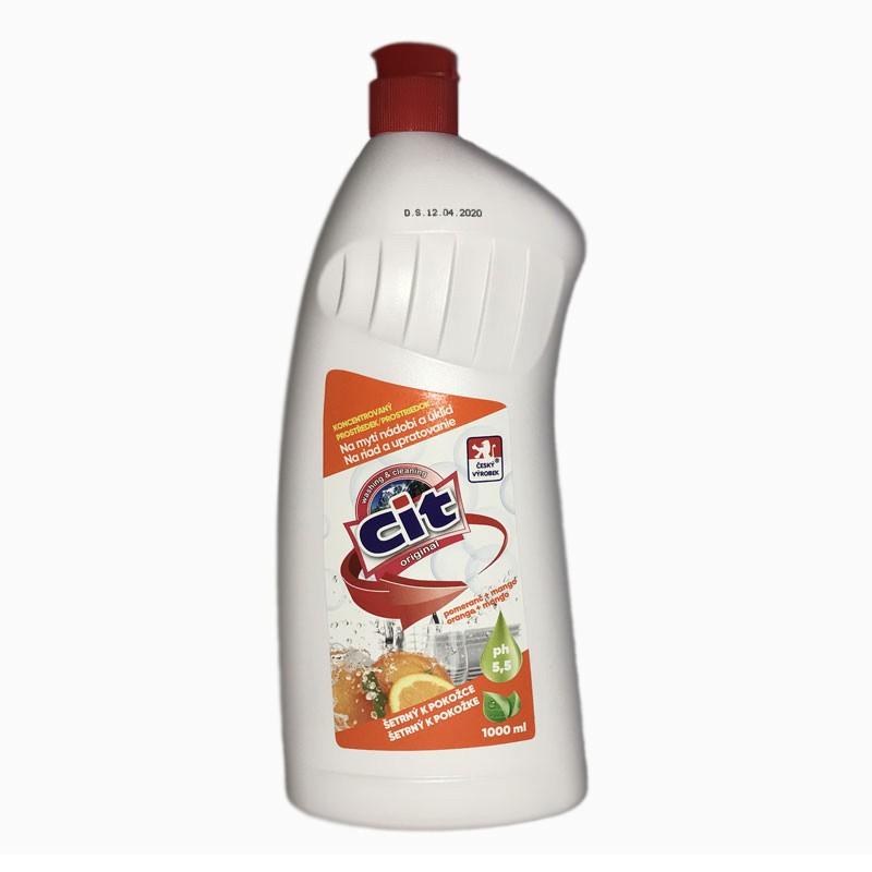 Drogerie - CIT na nádobí 1 l pomeranč a mango