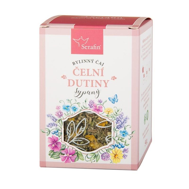 Byliny - Serafin - Čelní dutiny bylinný čaj sypaný