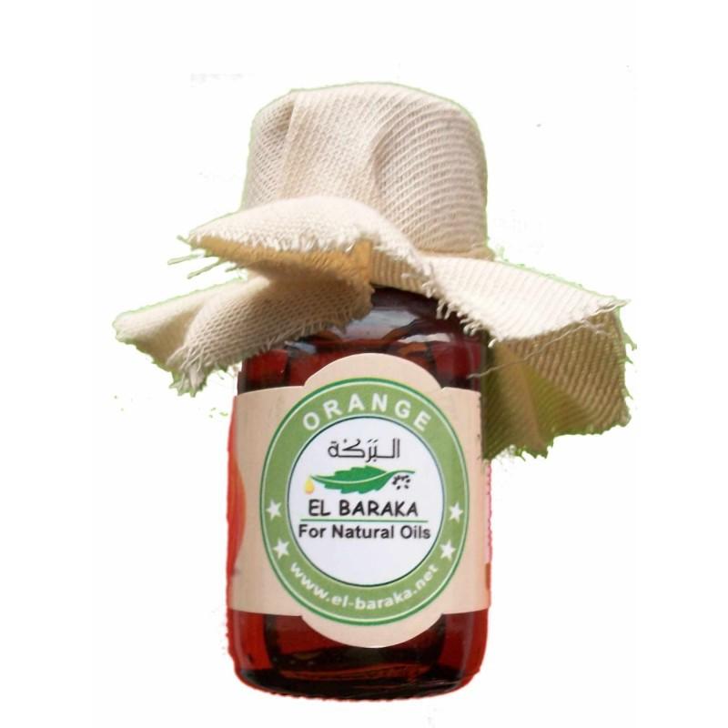 Přírodní neředěné oleje - Pomerančový olej 30 ml