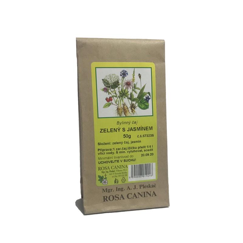 Byliny - otec Pleskač - Zelený čaj s jasmínem 50 g