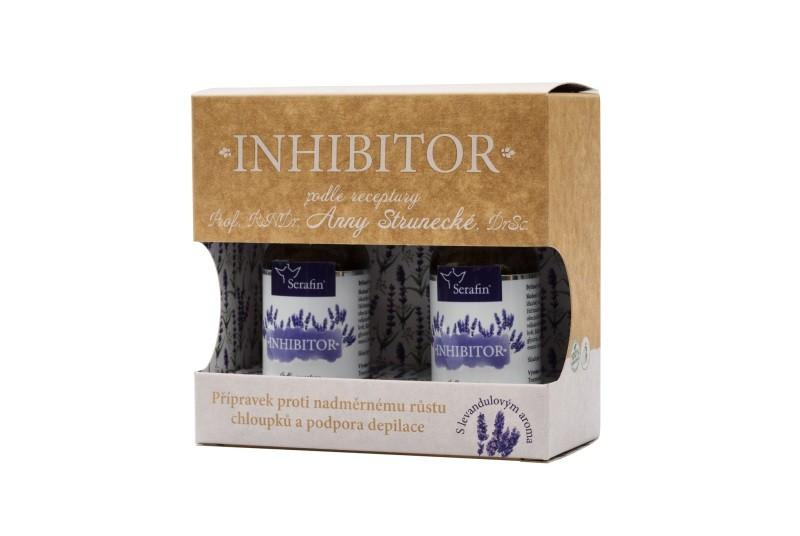 Přírodní kosmetika - Inhibitor - při nadměrnému růstu chloupků