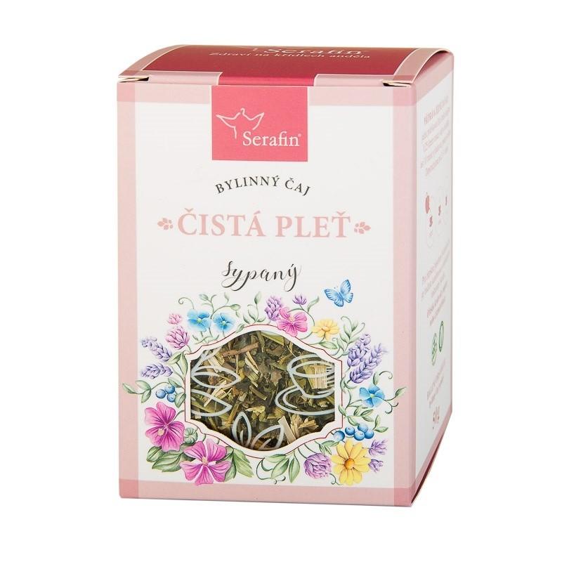 Byliny - Serafin - Čistá pleť - bylinný čaj sypaný