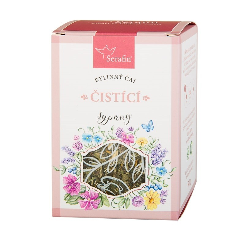 Byliny - Serafin - Čistící - bylinný čaj sypaný