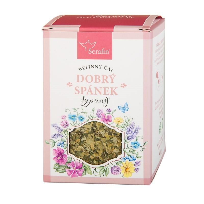 Byliny - Serafin - Dobrý spánek - bylinný čaj sypaný