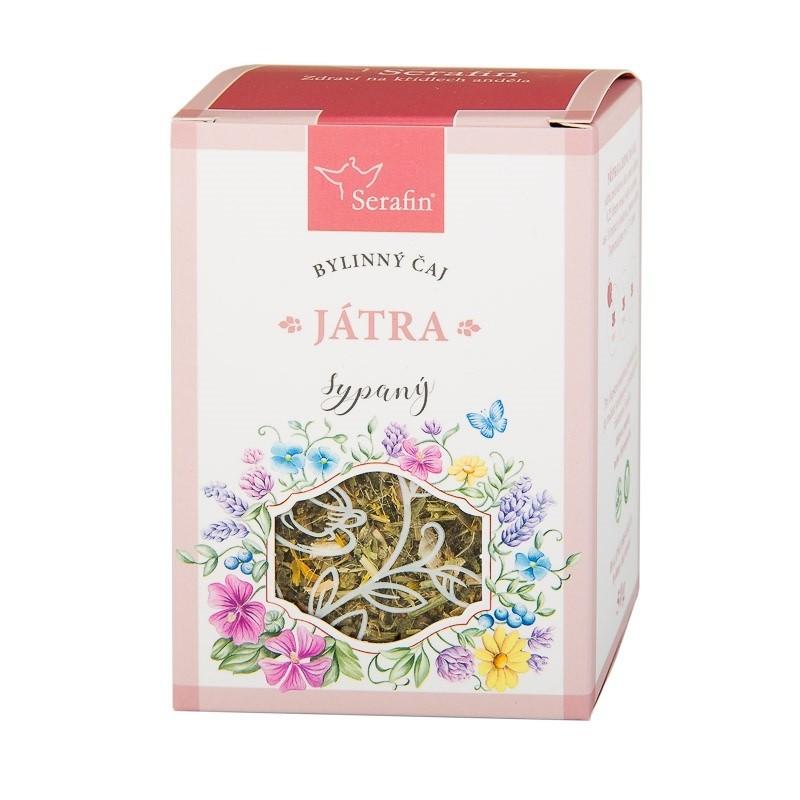Byliny - Serafin - Játra - bylinný čaj sypaný