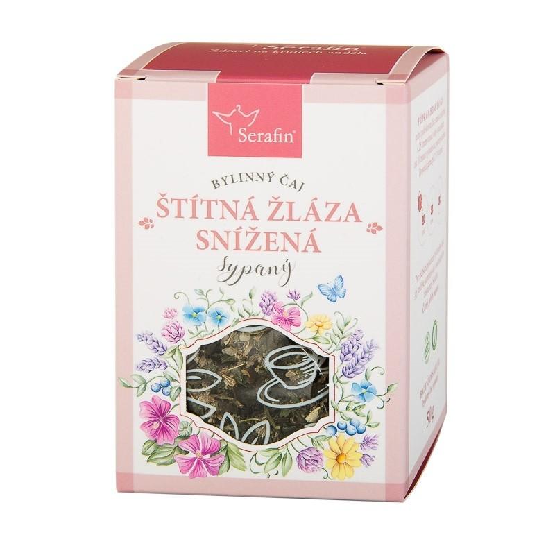 Byliny - Serafin - Štítná žláza snížená - bylinný čaj sypaný