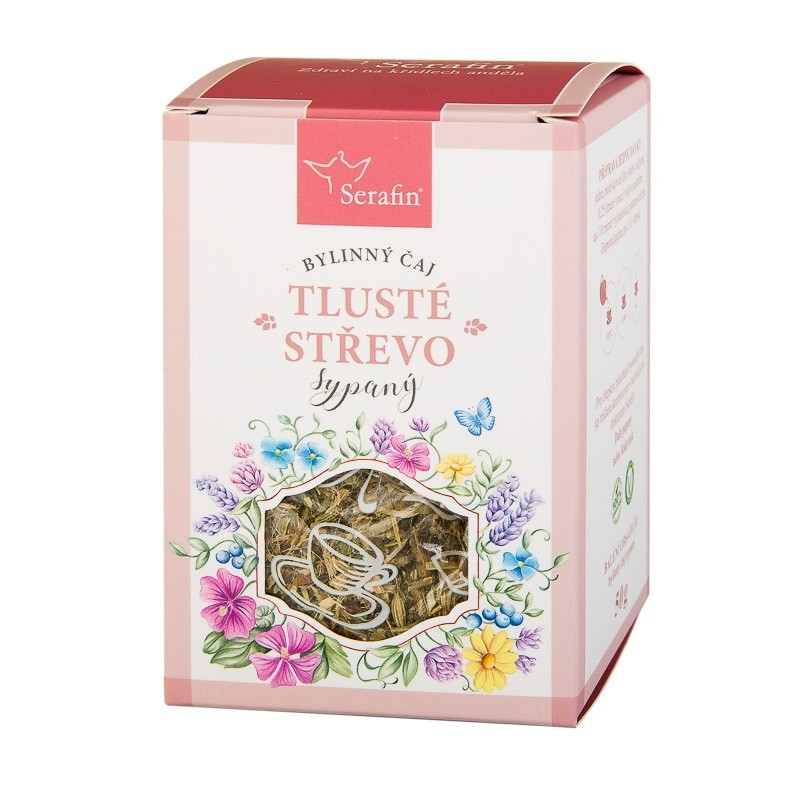 Byliny - Serafin - Tlusté střevo - bylinný čaj sypaný
