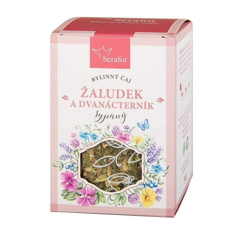 Byliny - Serafin - Žaludek a dvanácterník - bylinný čaj sypaný