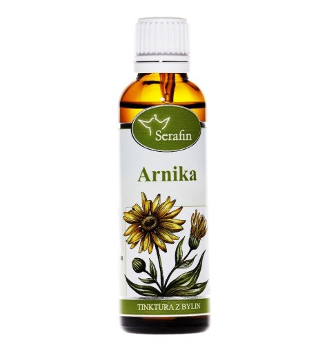 Bylinné tinktury Serafin - Arnika 50 ml