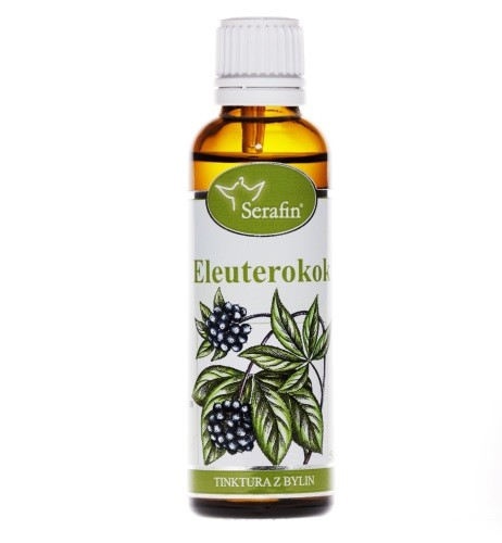 Bylinné tinktury Serafin - Eleuterokok 50 ml