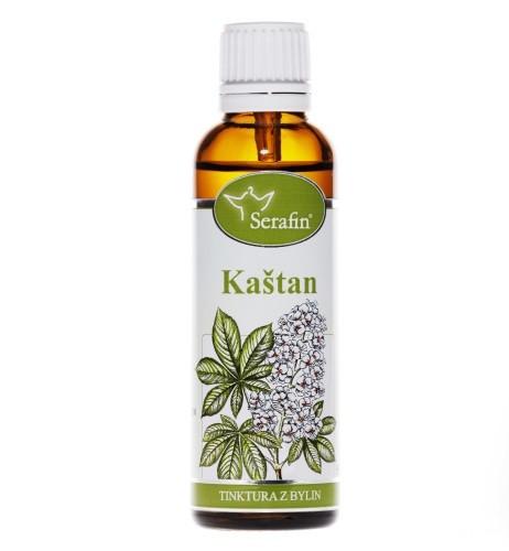 Bylinné tinktury Serafin - Kaštan - Chestnut 50 ml