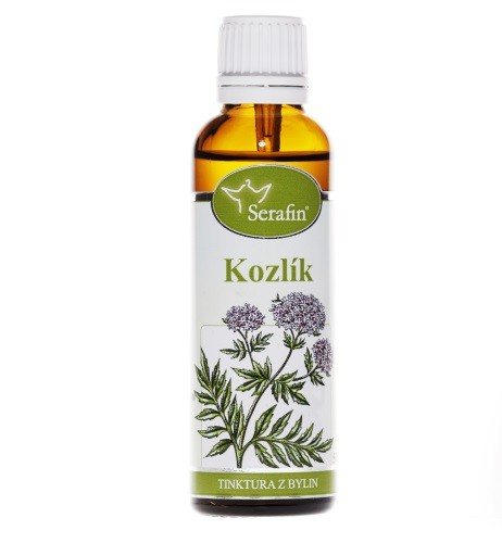 Bylinné tinktury Serafin - Kozlík 50 ml