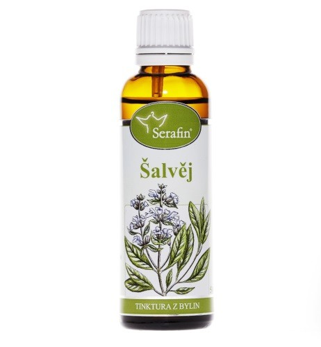 Bylinné tinktury Serafin - Šalvěj 50 ml