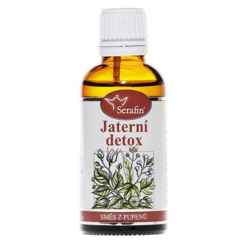 Bylinné tinktury Serafin - Jaterní detox TS 50 ml