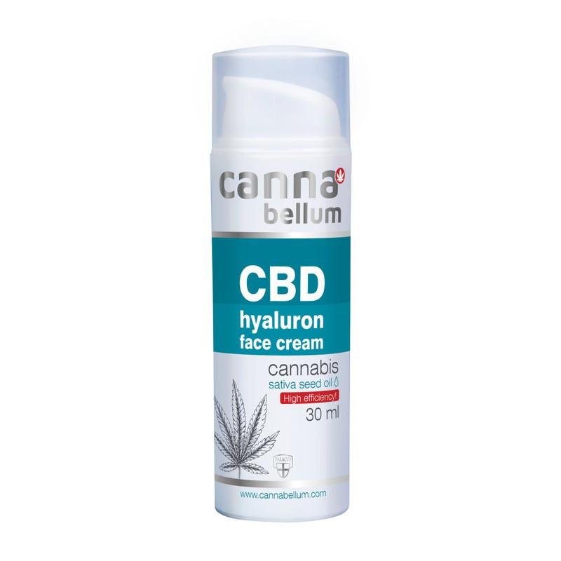 Přírodní kosmetika - CBD hyaluronový krém 30 ml + DÁREK