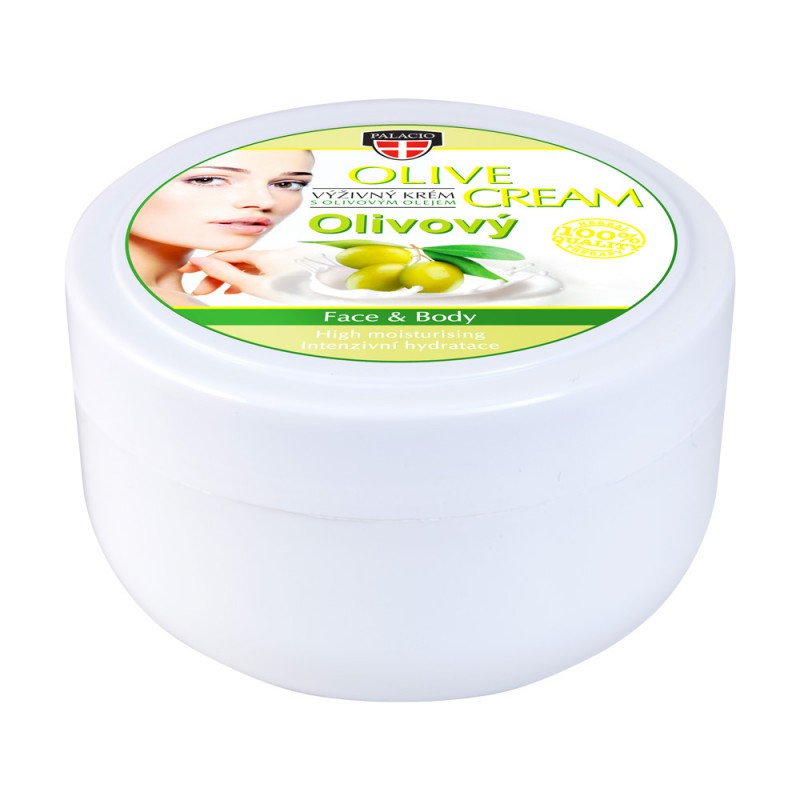 RYCHLÁ VOLBA - Péče o tělo a vlasy - Olivový hydratační krém