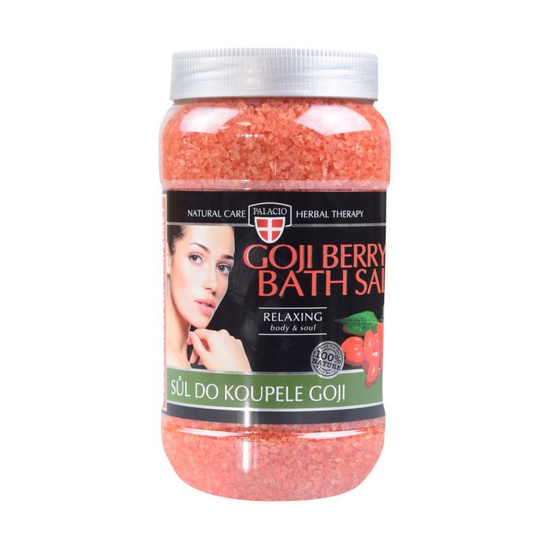 Přírodní kosmetika - Goji koupelová sůl 1200 g
