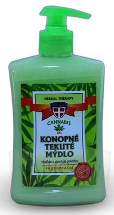 Přírodní kosmetika - Konopné tekuté mýdlo 500 ml