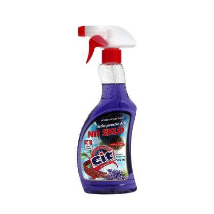 Drogerie - CIT čistič na sklo levandule 500 ml